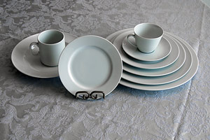 Royal Scheffield White Porcelain